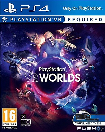 PlayStation 4 - VR Worlds