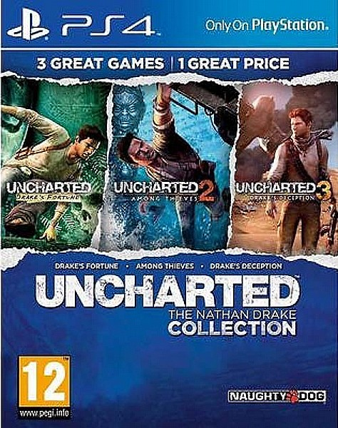 PlayStation 4 - UNCHARTED: Nathan Drake Collection