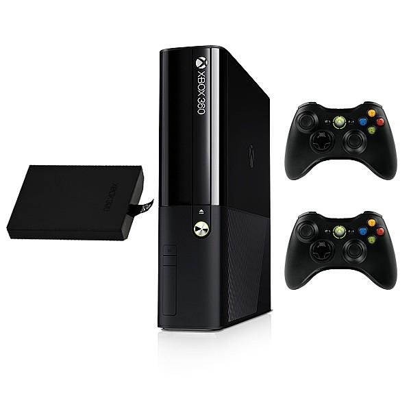 מחודש כולל אחריות שנה: Xbox 360 Slim 250GB Pal + RGH + 2 Controllers - ₪900
